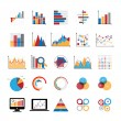 Graphic charts diagrams — Stock Vector #79652088