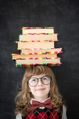 библиотека — Стоковое фото
