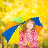 Enfant en automne — Photo