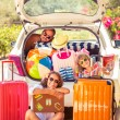 Family going on vacation — Stock Photo #71296199