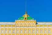 Grand Kremlin palace details in the winter day — Stock Photo