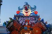 VIAREGGIO, ITALY - February 7:   parade of allegorical chariot a — Stock Photo