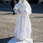 ITALY - NOVEMBER 23:   Street artist pantomime photo taken in: 2 — Stock Photo #64955371