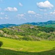 Panoramic views of the Tuscan-Emilian Apennines Italy — Stock Photo #67537721