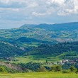 Panoramic views of the Tuscan-Emilian Apennines Italy — Stock Photo #67537809