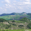 Panoramic views of the Tuscan-Emilian Apennines Italy — Stock Photo #67537827