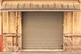 Old store Facade — Stockfoto