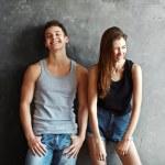 Fashion young couple — Stock Photo #65295817