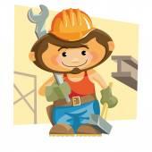 Ironworker — Stock Vector