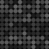 Grey circles seamless pattern — Stock Vector
