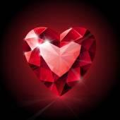 Heart image — Stock Vector