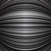 Grey warped stripes background — Stock Vector
