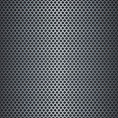 Silver metallic grid background — Stock Vector