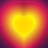 Heart  image — Vector de stock