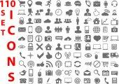 Universal flat Icons for Web — Stockvektor