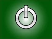 Icon of power — Stock Vector