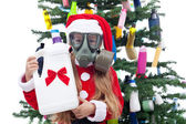 Plastic Christmas — Stock Photo