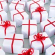 Lots of small christmas presents — Stockfoto #56883921
