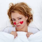 Lovesick woman — Stock Photo
