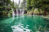 Plitvice lakes national park Croatia — Stock Photo