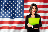 Learning english language in U.S.A. — Zdjęcie stockowe