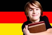 Learn the german language — Stock Photo