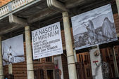 Cremona, Italy november 14 2014: Magnum photographers exibition  — Stock Photo