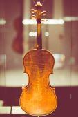 Cremona, Italy november 14 2014: Museum of Violin , Stradivari v — Foto de Stock