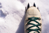 Winter climb boot — Stock Photo