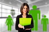 Executive business woman family — Stock Photo