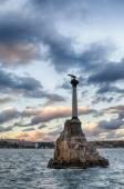 Sevastopol kazasında anıt — Stok fotoğraf