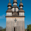 Wooden Orthodox Temple in Ukraine — Stock Photo #70572069