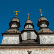 Wooden Orthodox Temple in Ukraine — Stock Photo #70572121