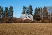 Farmers house, Northern Europe — Stock Photo