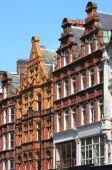 British red brick mansions — Stock Photo