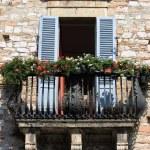 Medieval balcony — Stock Photo #63333449