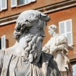 Statue of Saint Paul the Apostle in Vatican City — Stock Photo #67842659
