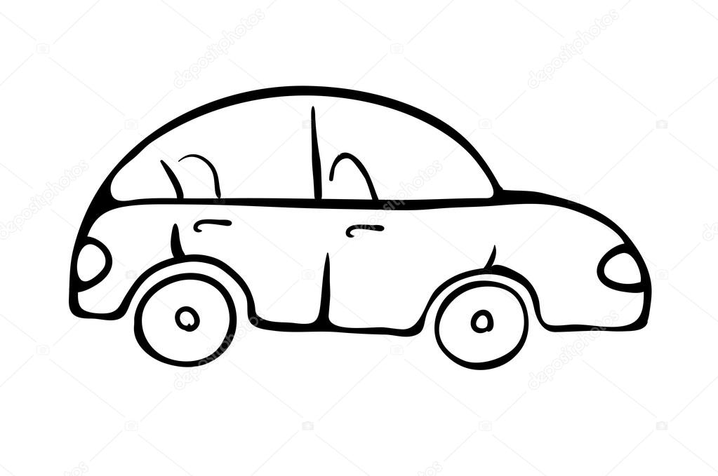 Stock Photos Smart Car Silhouette Very Big Size Illustration Image30425653 as well Car Outline Vector Vector 6219727 as well Police Car Coloring Pages furthermore Hot Rod 106811377 furthermore Cartoon Monster Truck Vector. on cartoon muscle truck line drawing