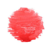 Watercolor sun, vector illustration — Stock Vector