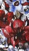 花のデザインを手します。 — ストック写真