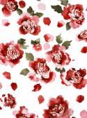 Flowers hand design — Stock Photo