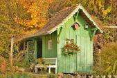 Small garden house — Stock Photo