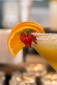 Orange Margarita Cocktail — Stock Photo