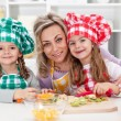 Happy chefs in the kitchen — Stock Photo #52340867