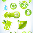 Set of ecology icons. — Stock Vector #53035989