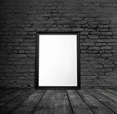 Cadre noir blanc — Photo