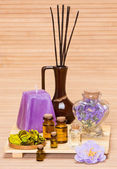 Aromatherapy accessories — Stock Photo