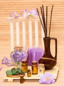 Aromatherapy accessories — Stock Photo