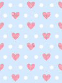 Gentle romantic pattern — Vector de stock