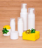 Cosmetics as a gift — Stock Photo